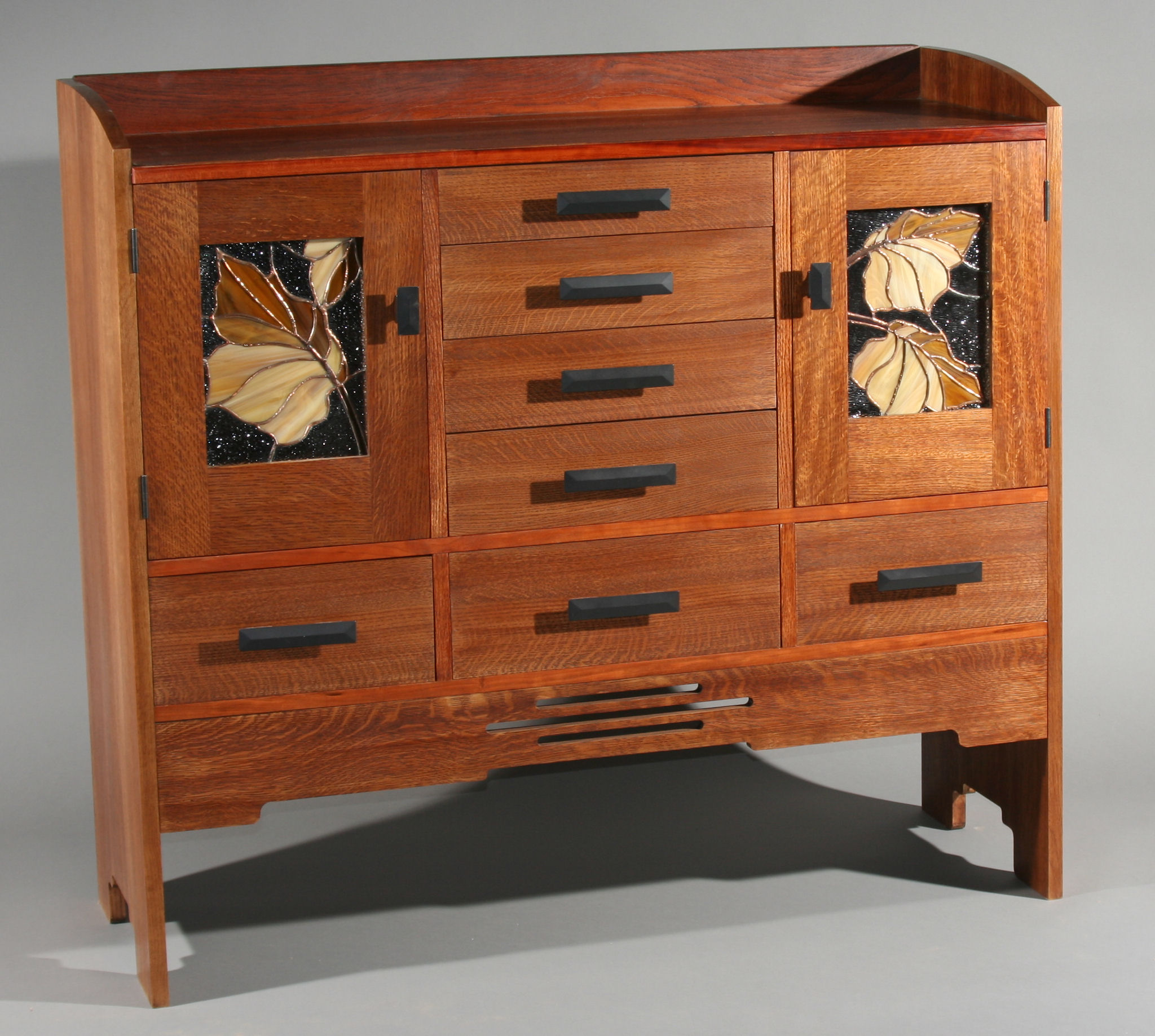 arts and crafts sideboard
